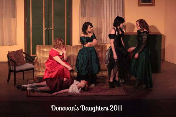 Samantha Bardwell, McKenzi Beazer, Sarena Panatex, Johanna Groenig & Keli Byers are Donvan's Daughters- 2011