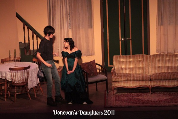 Hunter Buck & Sarena Panatex star as Patrick & Alana in DONOVAN'S DAUGHTERS 2011