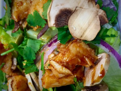 Kicking BBQ Chicken Salad