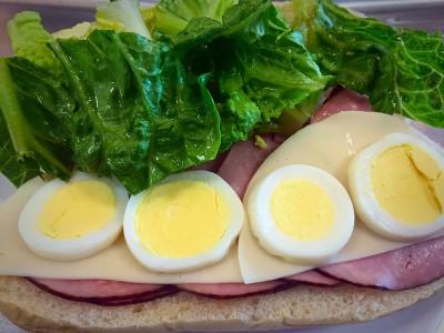 Supreme Ham Sandwich
