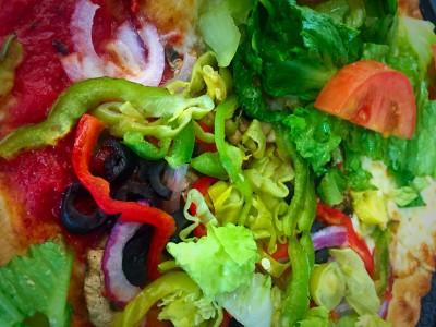 Veggie Special Pizza-Sandwich