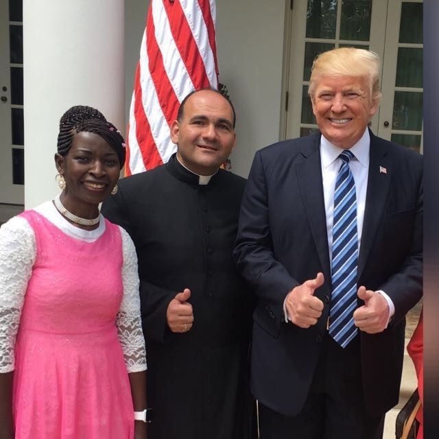 Historic Executive Order: Pastor Coleman with Trump - National Day of Prayer 2017