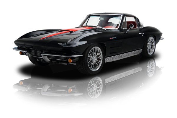 1966 black gm corvette