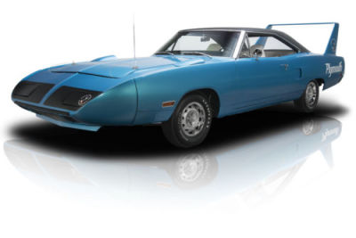 1970 plymouth petty blue superbird