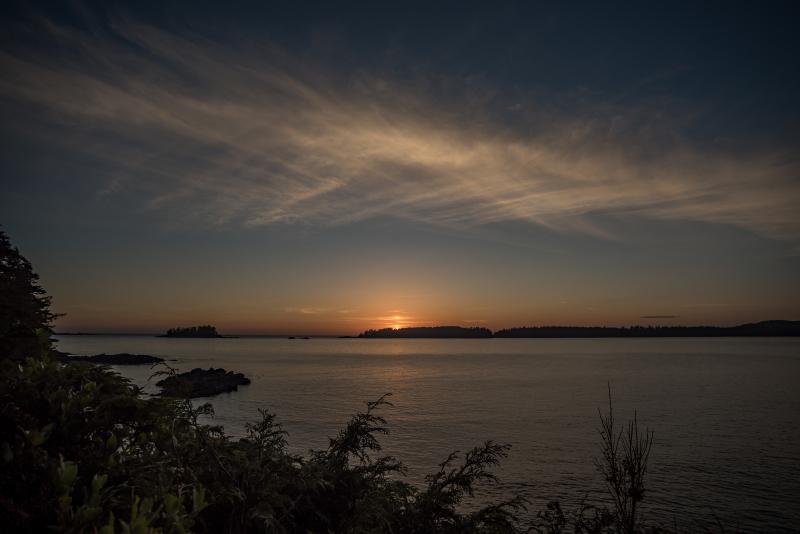 Sunset Beach Tofino BC