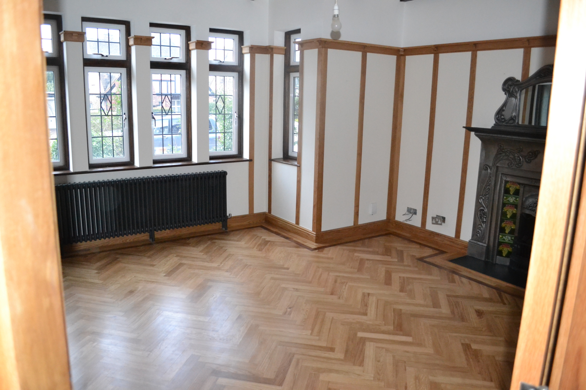 FLOORING AND PANELLING