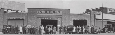 C W Robinson & Co of the yesteryear