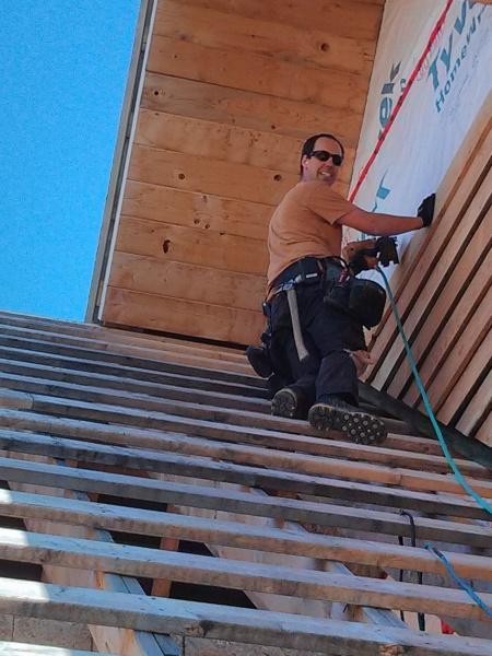Installing wood siding