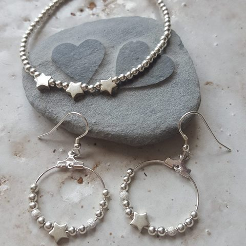 Sterling silver beaded jewellery collections