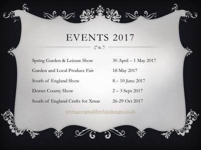 Country Shows and Events for 2017 Inc South of England Show