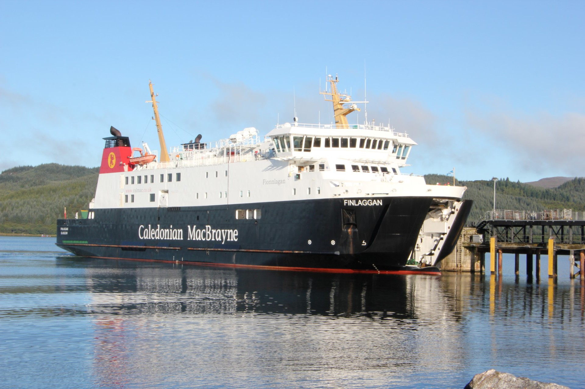 MV Finlaggan at Kennacraig