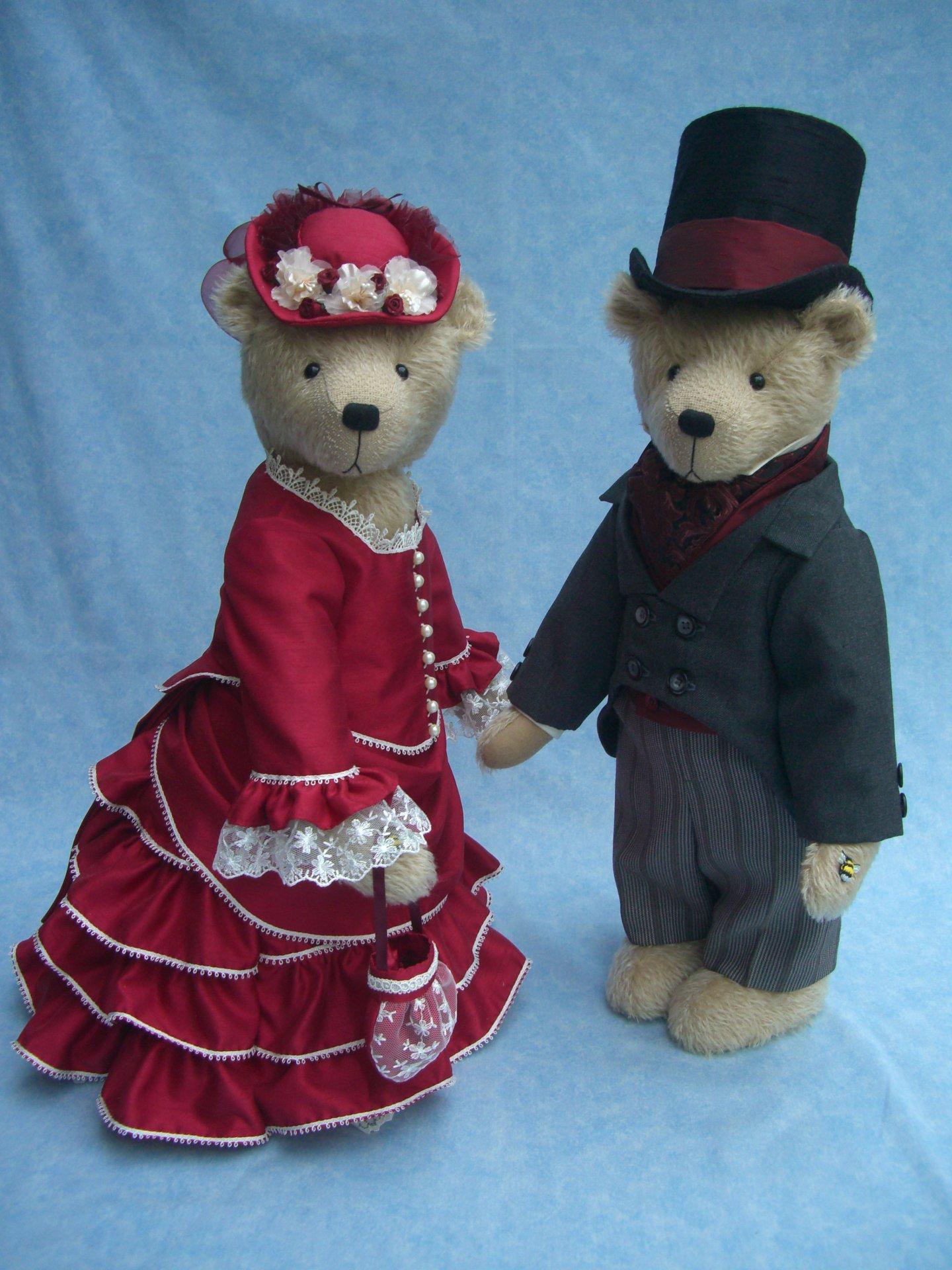 Victorian Lady & Gentleman