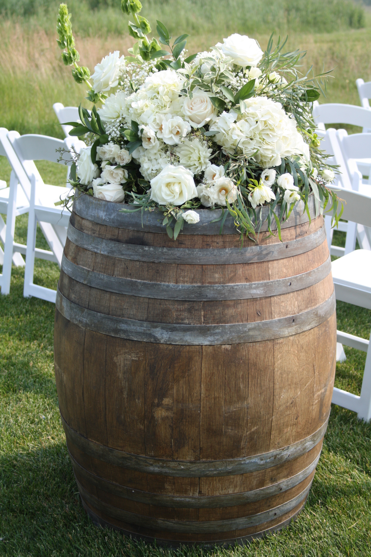 Wine Barrels {$50 or one to three, $40 each for four or more}