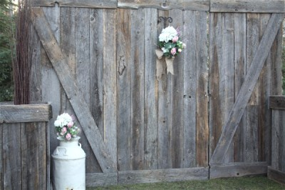 Barn Wood Backdrop {$250}