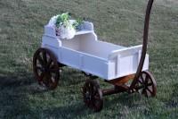 rent rustic wagon wedding ceremony edmonton