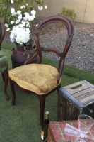 antique chair rent Edmonton Stagecoach