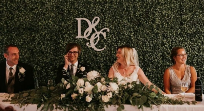 Boxwood Wall Backdrop {$150 and up}