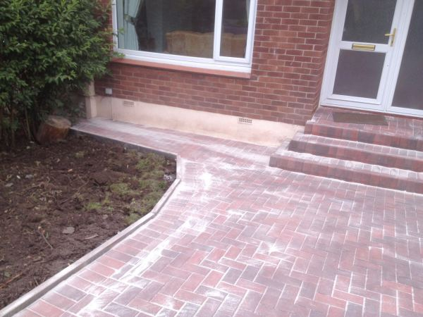 Monoblock Driveway and steps