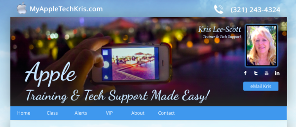 MyAppleTechKris.com Goes Live!