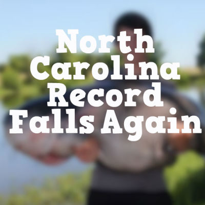 North Carolina Record falls again