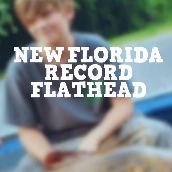 New Florida Record Flathead
