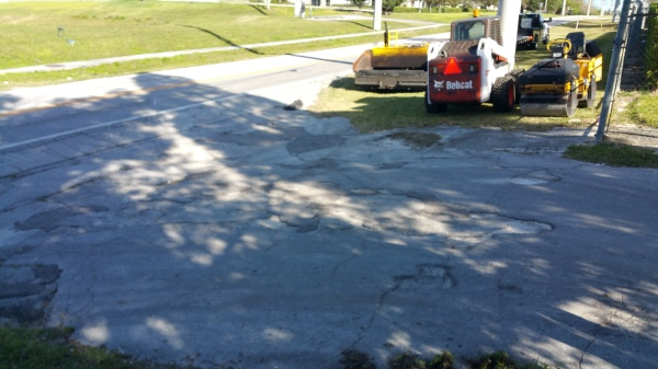 Hill Crest MHP Apron Overlay Before
