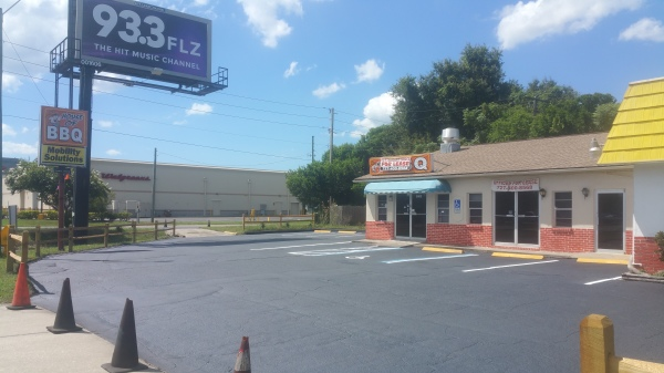 New Port Richey Patch and Seal Parking Lot After