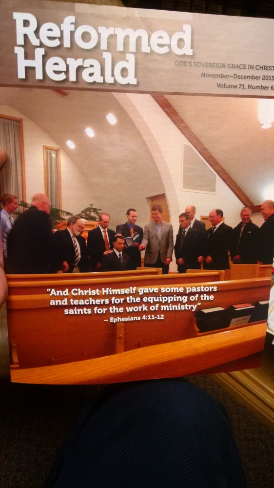 The Reformed Herald is our denominational magazine.