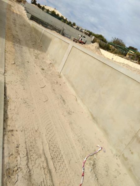 Concrete Retaining