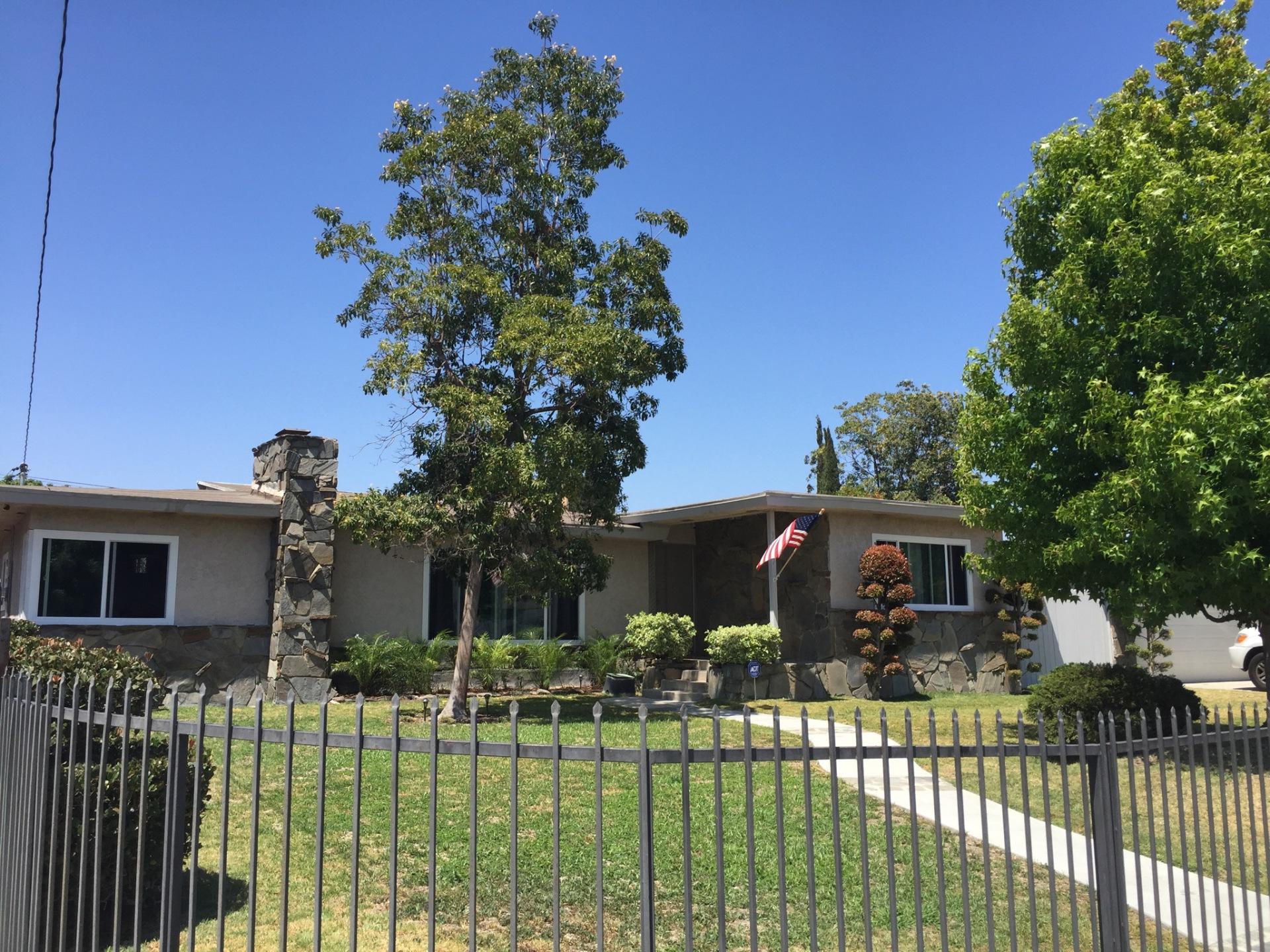 Brady Ave. Anaheim CA SFR Home Listed - Subject Photo