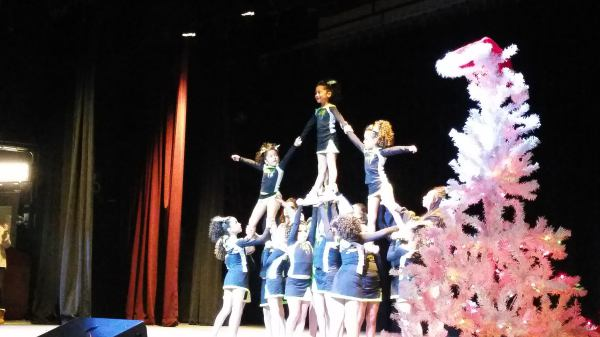 Vendetta hitting their pyramid!