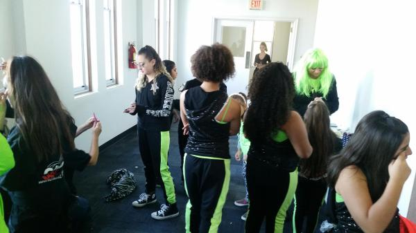 Hip Hop getting ready to take the stage!