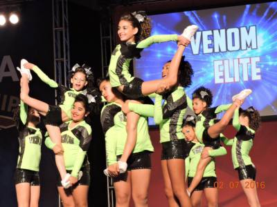 Venom Rocks it at Nationals! 2/7/16