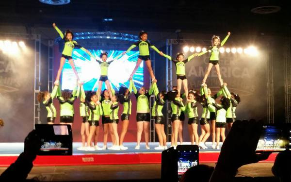 Vortex hits their Pyramid at Nationals!