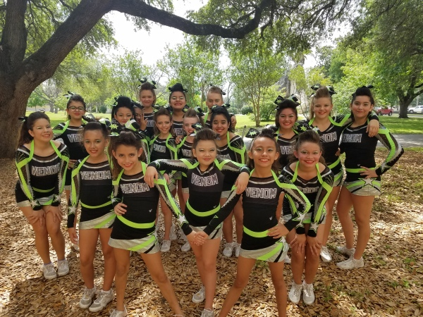 Performing at Texas Cheer and Dance
