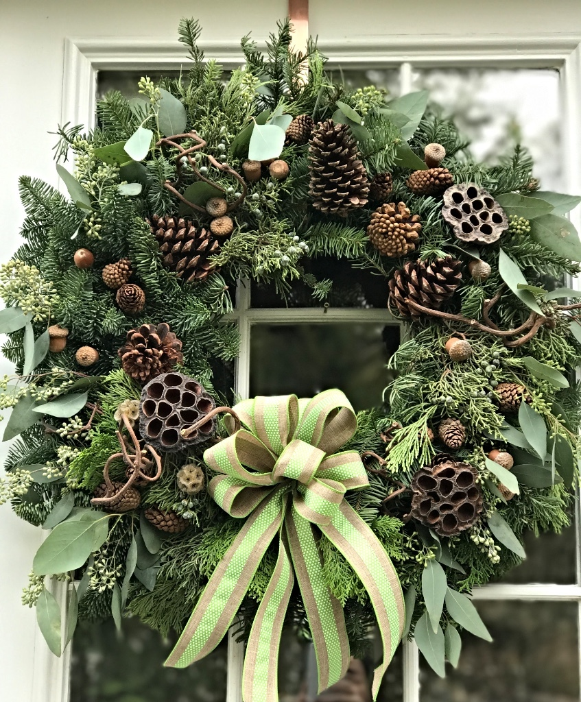Natural Green Wreath