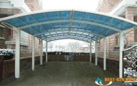 fiberglass car parking shades, fiberglass shades, fiberglass, grp shades, frp shades suppliers,