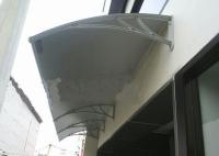 fiber awnings, polycarbonate, polycarbonate awnings, acrolic awnings,