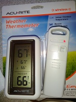 thermometer, keeping chicks warm