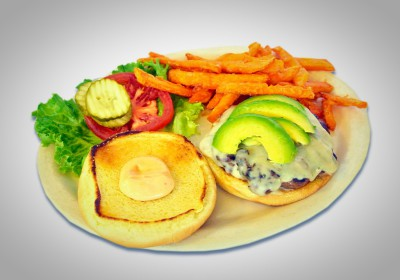 Avocado Swiss Burger