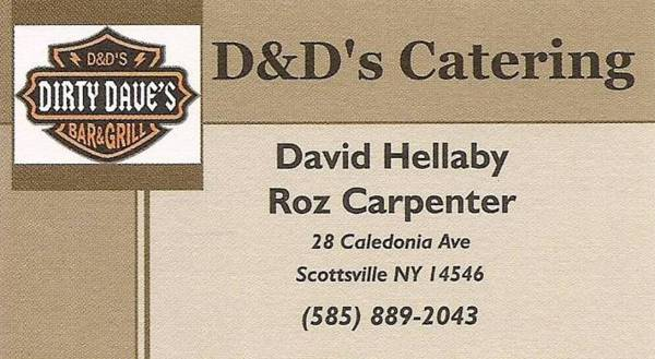 D&D's Catering