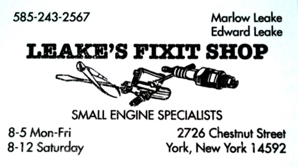 Leake's Fix It Shop