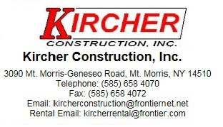 Kircher Construction and Rental