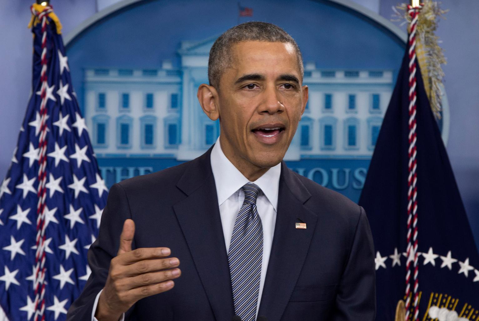Obama Encourages Unity at White House Press Conference