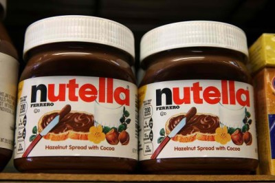 Nutella's serving size may be cut in half