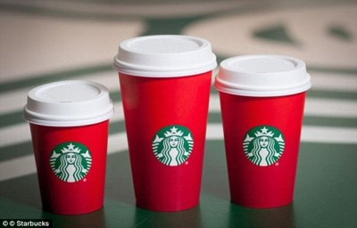 Starbucks Finally Launches Its Red Cups