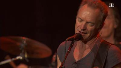 Sting Reopens Bataclan Concert Venue in Paris