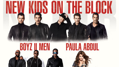 NKOTB Announce Tour with Boyz II Men, Paula Abdul