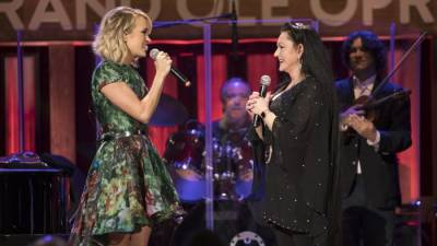 Carrie Underwood Surprises Crystal Gayle with Opry Membership