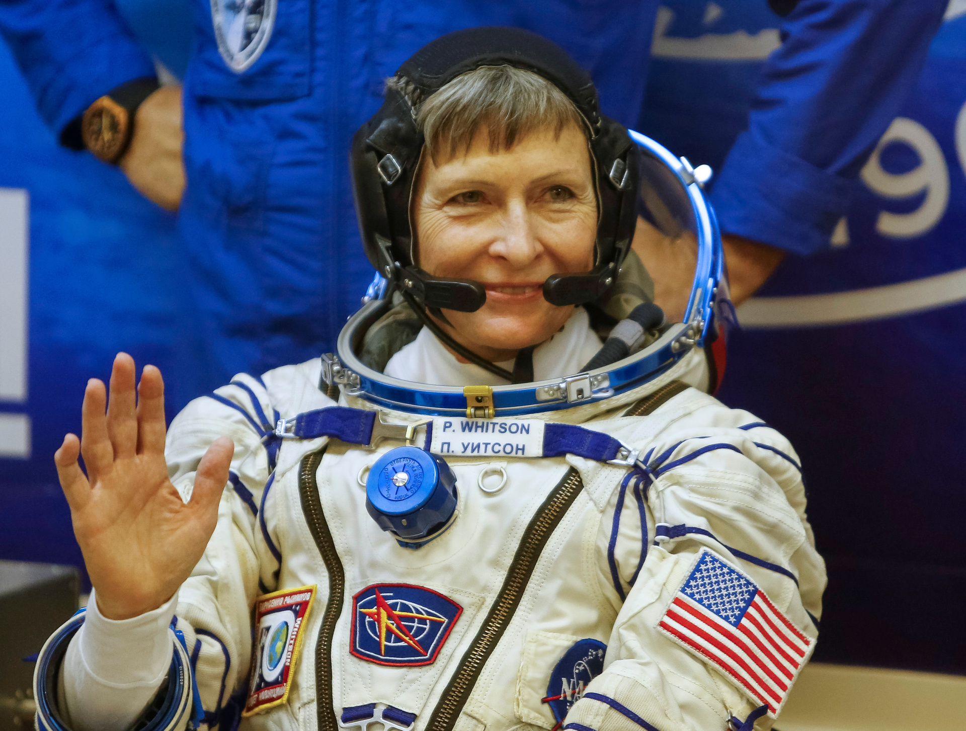 56-Year-Old Astronaut Becomes Oldest Woman In Space